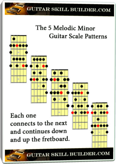 The Melodic Minor Scale for Guitar